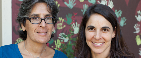 Dandelion's two full time teachers: Sonia Rawal and Abby Pletcher